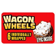 Burtons Wagon Wheels Original Biscuit 6 Pack