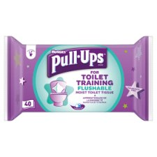 Huggies Pull-Ups Potty Training Wipes 40 Pack