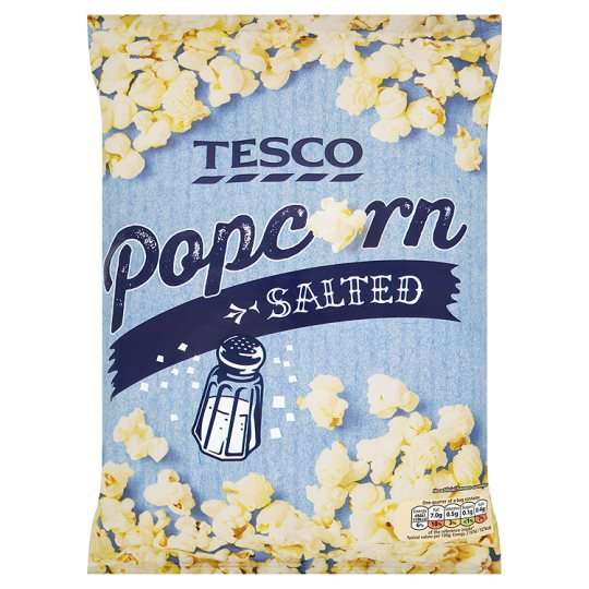Tesco Salted Popcorn 90 G