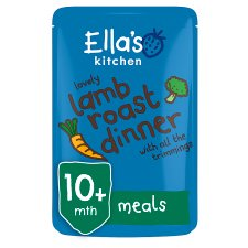 Ella's Kitchen Lovely Lamb Roast Dinner 190G