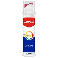 Colgate Total Plus Whitening Pump Toothpaste 100Ml