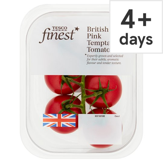 image 1 of Tesco Finest Pink Temptation Tomatoes 300G
