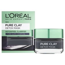 image 2 of L'oreal Pure Clay Detox Mask Black 50Ml