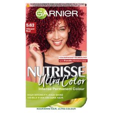 image 1 of Garnier Nutrisse 5.62 Ultra Vbrnt Red Permanent Hair Dye