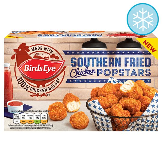 Birds Eye Southern Fried Chicken Popstars 400G