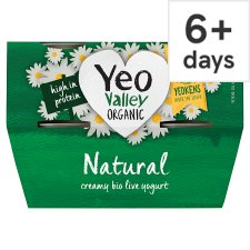 Yeo Valley Natural Yogurt 4 X120g