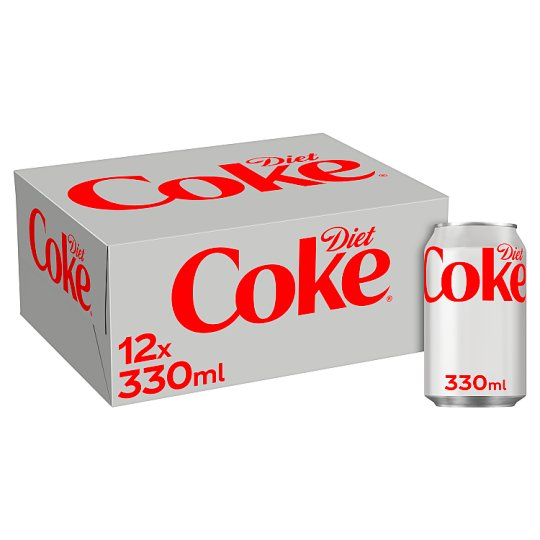 image 1 of Diet Coke (Gb) 12 X 330Ml