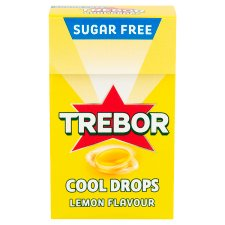 Trebor Cool Drop Lemon Sweets 28G