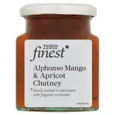 Tesco Finest Mango Apricot And Coriander Chutney 310G