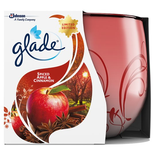 Image result for glade spiced apple and cinnamon candle