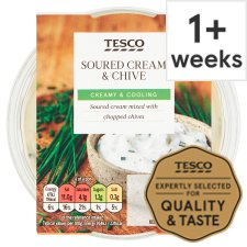 Tesco Sour Cream And Chive Dip 200G
