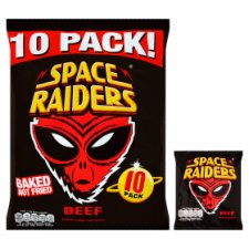 image 2 of Space Raiders Beef 10X11.8G Pack