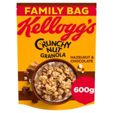 Kelloggs Crunchy Nut Hazelnuts And Chocolate Granola 600G