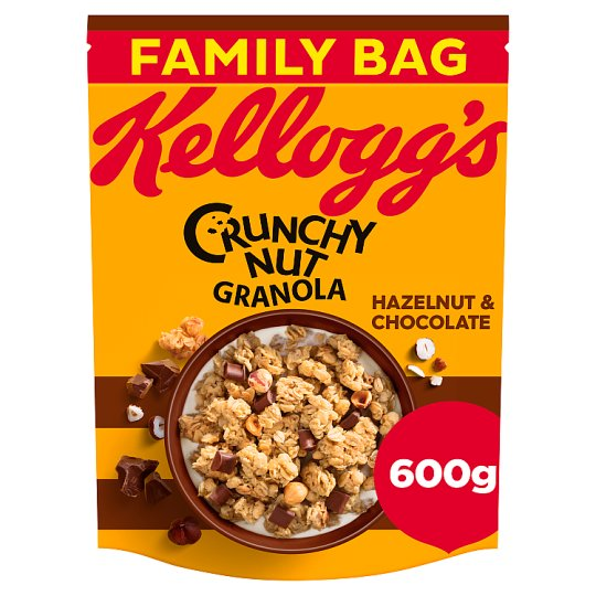 Kelloggs Crunchy Nut Oat Granola And Chocolate 600G