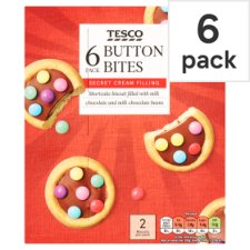 Tesco Button Bites 140G 6 Pack