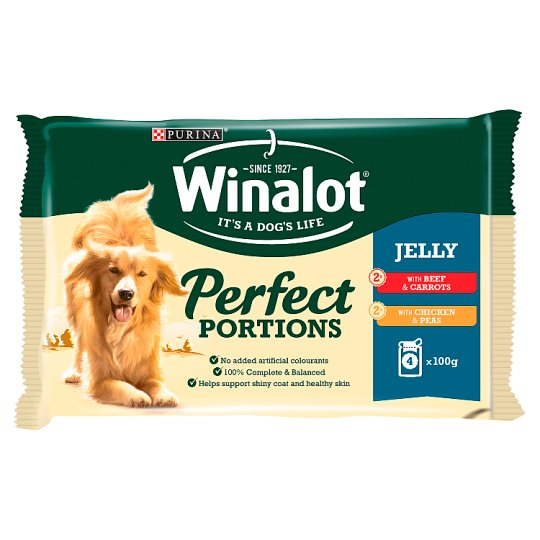 image 1 of Winalot Pouch Beef And Chicken 4X100g
