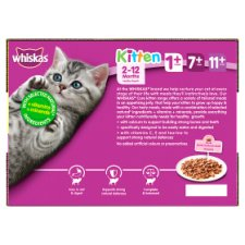 image 3 of Whiskas 2-12 Month Poultry In Jelly Kitten 12 X100g