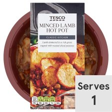 Tesco Minced Lamb Hotpot 450G