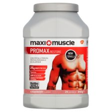 Maximuscle Promax Powder Strawberry 840G