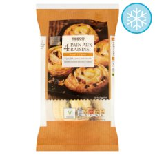 Tesco 4X Pain Au Raisin 410G
