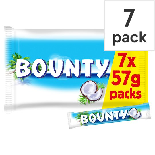image 1 of Bounty Chocolate Multipack 7 X28.5G