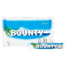 image 2 of Bounty Chocolate Multipack 7 X28.5G