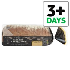 Tesco Finest Dark Rye And Sunflower Cob 600G