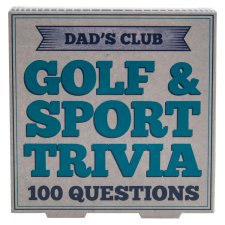 Golf Quiz Card And Trivia
