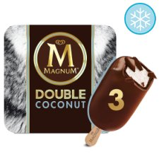 Magnum Double Coconut Ice Cream 3 X88ml