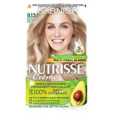 Garnier Nutrisse 9.13 Light Ash Blonde Permanent Hair Dye