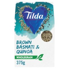 Tilda Wholegrain Basmati Rice And Quinoa 375G