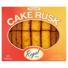 Regal Original Cake Rusks 28 Pieces
