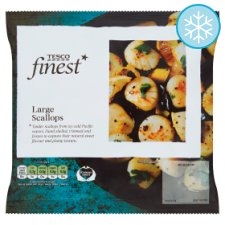 Tesco Finest Scallops 200G