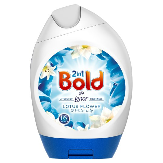 Bold Washing Gel White Lily 592Ml 16 Washes