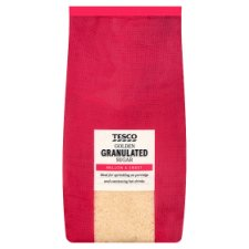 Tesco Golden Granulated Sugar 1Kg