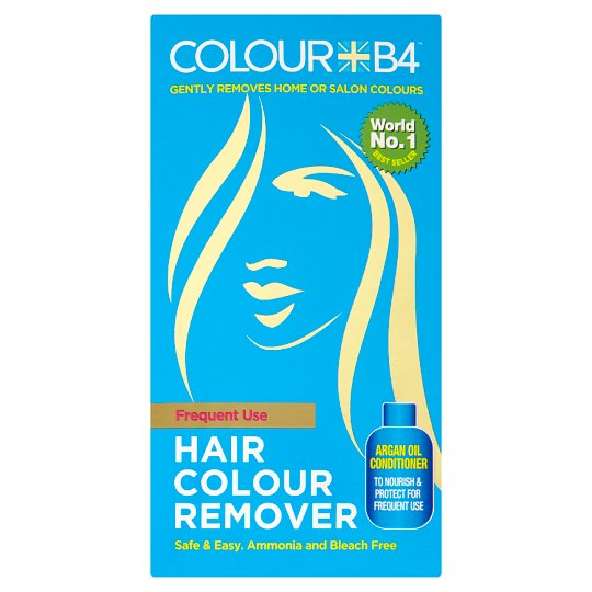 Colour B4 Hair Colour Remover Frequent Use