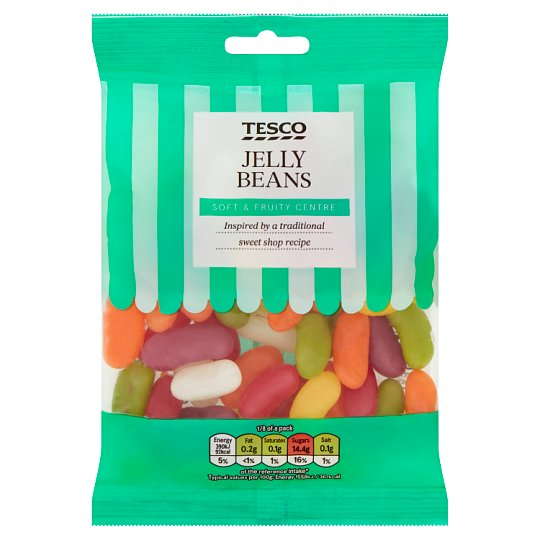 Tesco Jelly Beans Sweets 200G