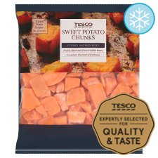 Tesco Frozen Sweet Potato Chunks 600G