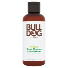 Bulldog 2 In 1 Beard Shampoo & Conditioner 200Ml