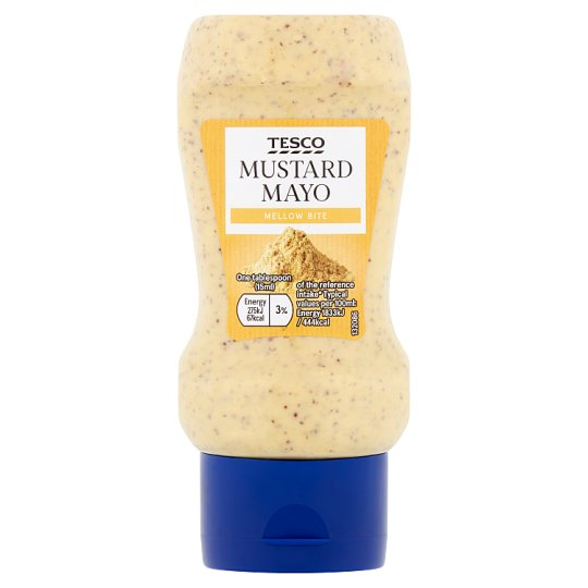 Tesco Mustard Mayonnaise 250Ml