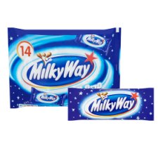 image 2 of Milky Way Funsize Minis 14 Pack 227G