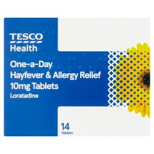Tesco Hayfever/Allergy Relief 14S