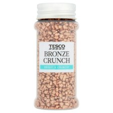 Tesco Bronze Crunch Sprinkles 70G