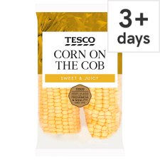 Tesco Corn On The Cob Twinpack