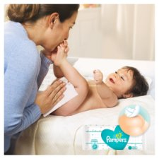image 2 of Pampers Sensitive Baby Wipes 56 Pack