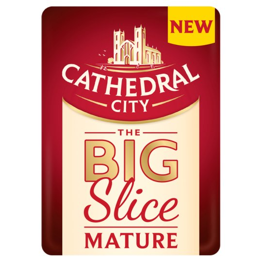 Cathedral City Mature Cheese Big Sliced 150G