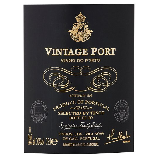Tesco Finest Vintage Port 75Cl