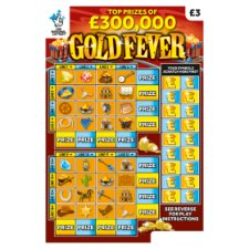 Gold Fever Scratchcard