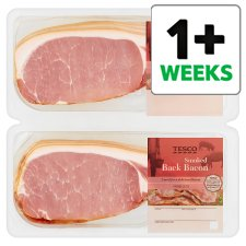 Tesco Smoked Back Bacon 2X300g