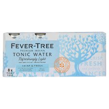 Fever-Tree Tonic Naturally Light 8 X 150Ml